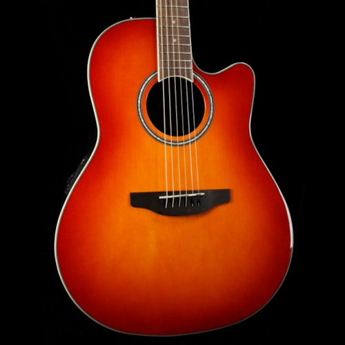 Ovation Applause Balladeer Acoustic Honey Burst Brand New