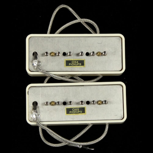 OX4 P-90 Pickup Set Vintage Cream Covers Brand New $262.70