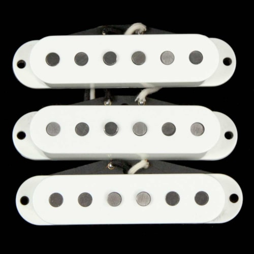 OX4 Single-Coil Pickup Set White Covers Brand New