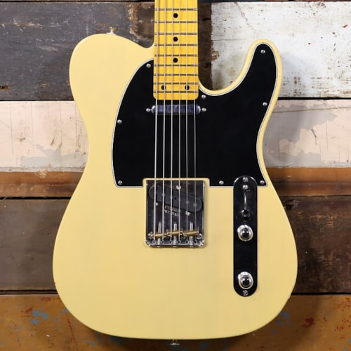 Partscaster Baritone T-Style Blonde MIM Body Warmoth Neck