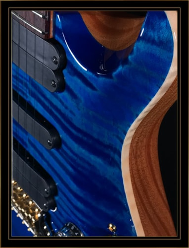Paul Reed Smith 509 with 10 Top in Aquamarine
