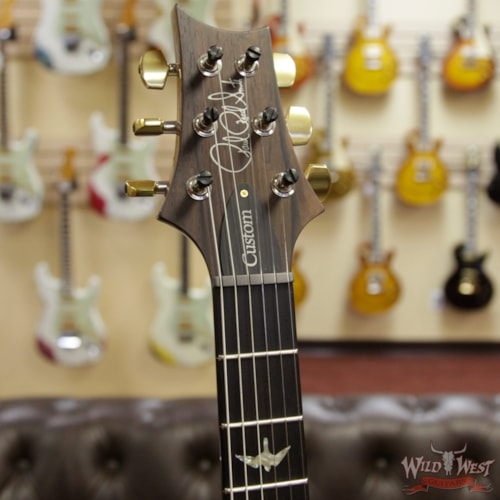 2019 PRS - Paul Reed Smith PRS Wood Library 10 Top Custom 24 Flame Top Brazilian Rosewood Board Natural 6.90 LBS Natural