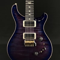 Paul Reed Smith Custom 24-08 in Violet Blueburst with Flame Maple 10-Top