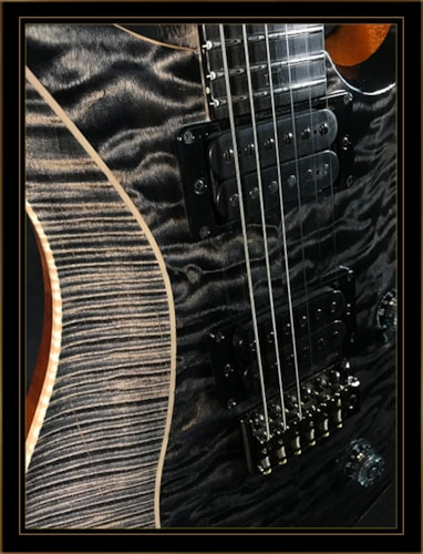 Paul Reed Smith Eclipse Custom 24 Grey Black/Charcoal, Brand New, Original Hard, $9,995.00