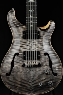 Paul Reed Smith Eddie's Wood Library Hollowbody II - Charcoal
