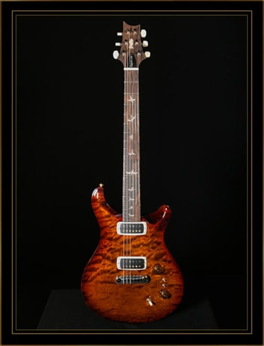 Paul Reed Smith Experience LTD 2018 Paul's Guitar with Quilt Top in Black Gold Nitro