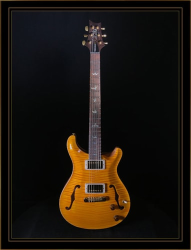 Paul Reed Smith Hollowbody II Artist Package in Santana Yellow with Solid Rosewood Neck