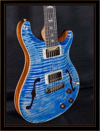 Paul Reed Smith Hollowbody II Faded Blue Jean, Brand New, Original Hard