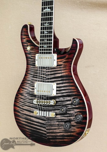 PRS Guitars McCarty 594 - Charcoal Cherry Burst 10 Top (Used)
