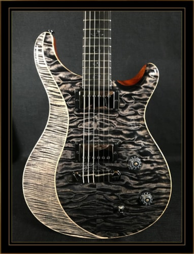 Paul Reed Smith Private Stock Eclipse Custom 22 Grey Black/Charcoal, Brand New, Original Hard