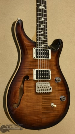 PAUL REED SMITH PRS CE24 Semi-Hollow - Burnt Amber Burst