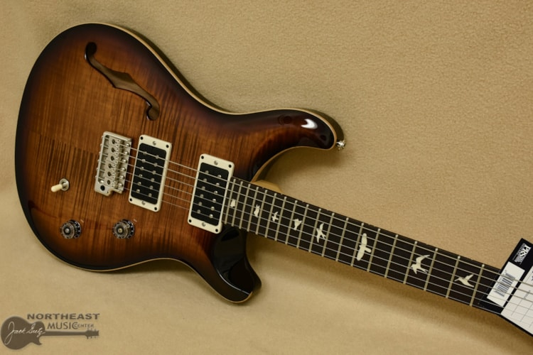 PRS CE24 Semi-Hollow - Burnt Amber Burst