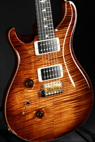 Paul Reed Smith (PRS) Custom 24 Lefty - Stained Figured Maple Neck/Copperhead Burs Brand New, Hard