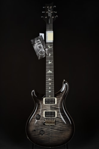 Paul Reed Smith (PRS) Custom 24 Lefty - Stained Figured Maple Neck/Charcoal Burst Brand New, Hard, $4,690.00