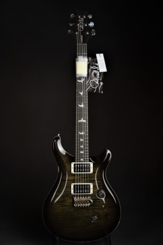 Paul Reed Smith (PRS) Custom 24 - Obsidian Smokeburst Brand New, Hard, $4,100.00