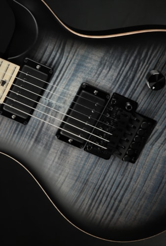 """Paul Reed Smith (PRS) DW (Dustie Waring) CE 24 """"Floyd"""" - Faded Whale Blue Smokeburst"""