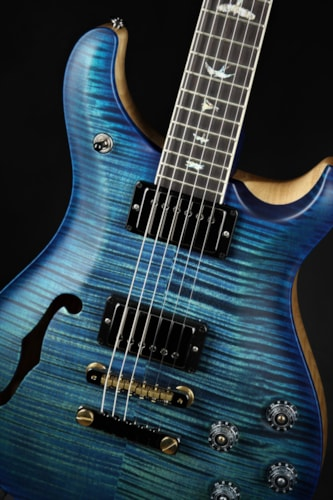 Paul Reed Smith (PRS) Eddie's Guitars Wood Library McCarty 594 Semi-Hollow Custom Color Satin