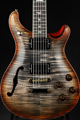 Paul Reed Smith (PRS) Eddie's Guitars Wood Library McCarty 594 Semi-Hollow - Burnt Brand New, Hard,