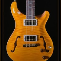 Paul Reed Smith PRS Hollowbody II Artist Package in Santana Yellow