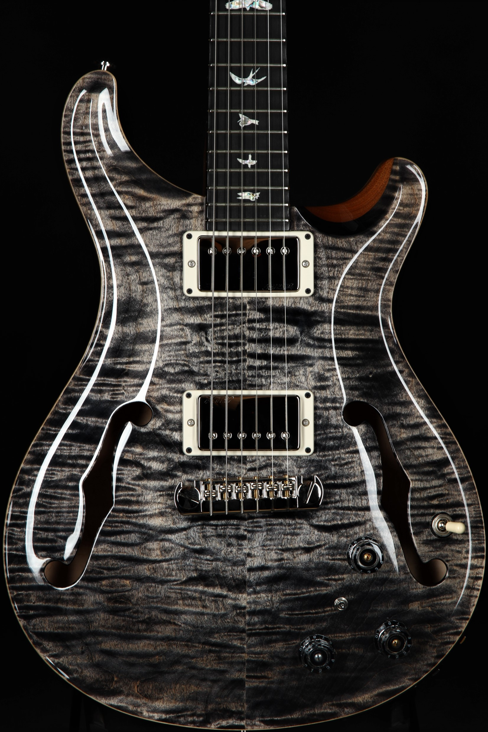 paul reed smith (prs) hollowbody ii piezo charcoal \u003e guitars paul reed  smith