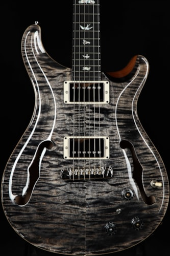Paul Reed Smith (PRS) Hollowbody II Piezo - Charcoal Brand New, Hard