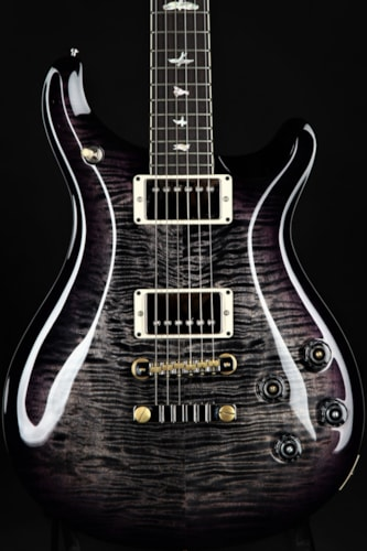 Paul Reed Smith (PRS)  McCarty 594 - Charcoal Purple Wrap Around Burst/Figured Map Brand New, Hard