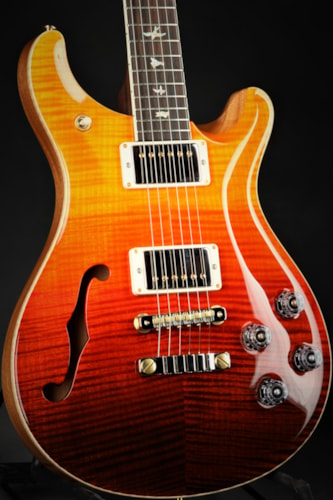 Paul Reed Smith (PRS) McCarty 594 Semi-Hollow Limited Edition/Rosewood Neck - Orange Fade