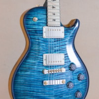 PAUL REED SMITH PRS Private Stock McCarty Singlecut - Blue Steel Smoked Burst with Black Painted Binding ()
