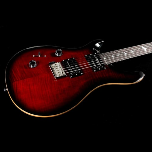 Paul Reed Smith PRS SE Custom 24 Left-Handed Fire Red Burst