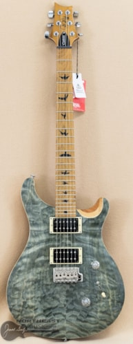 PRS SE Custom 24 - Roasted Maple Limited Edition Trampas Green (s/n: 9953)