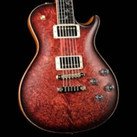 Paul Reed Smith PRS Singlecut McCarty 594 Private Stock Satin Faded Red Tiger Smoked Burst