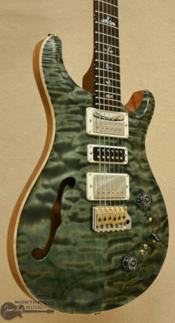 PAUL REED SMITH PRS Special Semi-Hollow Quilted 10 Top - Trampas Green ()