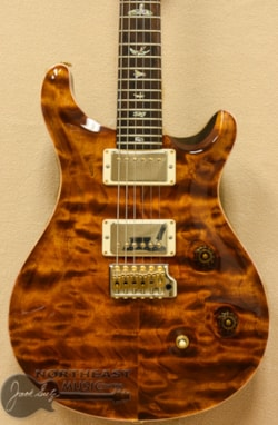 PAUL REED SMITH PRS Wood Library Custom 24 Fatback - Custom Color Yellow Tiger 10 Top