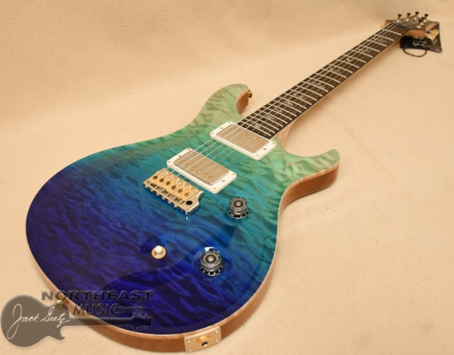 PAUL REED SMITH PRS Wood Library Custom 24 Fatback - Blue Fade 10 Top Brand New $4,980.00