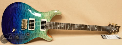 PRS Wood Library Custom 24 Fatback - Blue Fade 10 Top