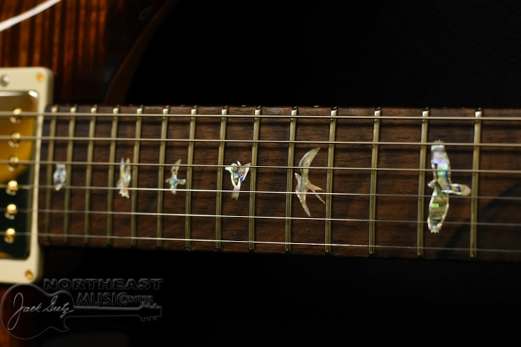 PRS Wood Library Custom 24 Fatback - Black Gold 10 Top