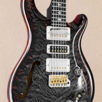 PAUL REED SMITH PRS Wood Library Special Semi Hollow - Charcoal Cherry 10 Top