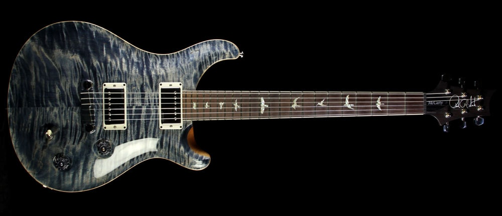 Paul Reed Smith Used 1998 Paul Reed Smith McCarty Electric Guitar Trampas Green Faded Whale Blue, Excellent, $1,999.00