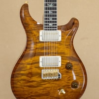 PAUL REED SMITH Wood Library McCarty Trem Quilted Maple 10 Top - Violin Amber Sunburst