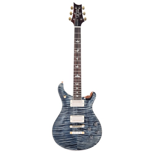 PRS Wood Library McCarty 594 10 Top Flame Faded Whale Blue/Natural Back w/Brazilian Rosewood Fingerboard (Serial #0289364)