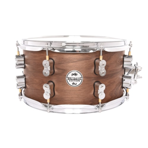 PDP 7x13 Concept Maple/Walnut 20-Ply Limited Edition Snare Drum Natural Satin B-Stock