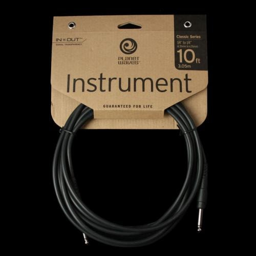 Planet Waves Classic Series Instrument Cable (10 Foot) Brand New $8.99