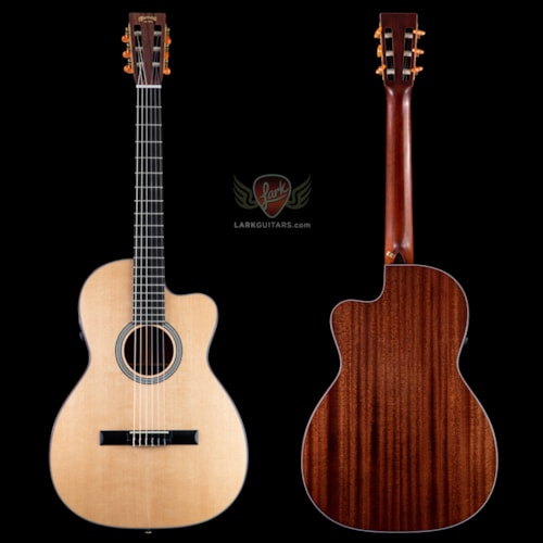 Pre-Owned Martin 000C-Nylon Classical - Natural (161)