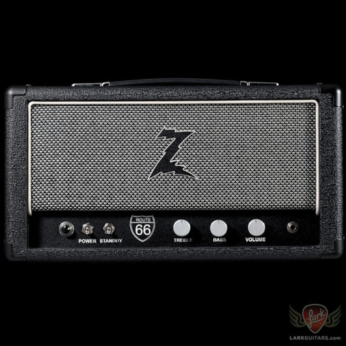 Pre-Owned Dr. Z Route 66 Head - Black w/Salt & Pepper Grill (201)