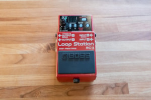 Pre-Owned Effects Pre-Owned Boss RC-3 Loop Station (001)