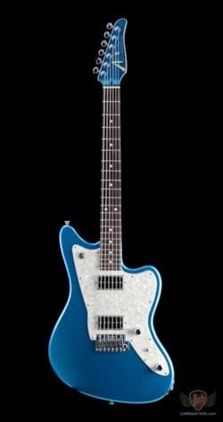 Pre-Owned Electrics Pre-Owned Tom Anderson Raven - Lake Placid Blue
