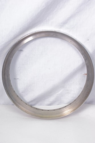 Pre War Gibson Banjo Raised Head Tone Ring Nickel