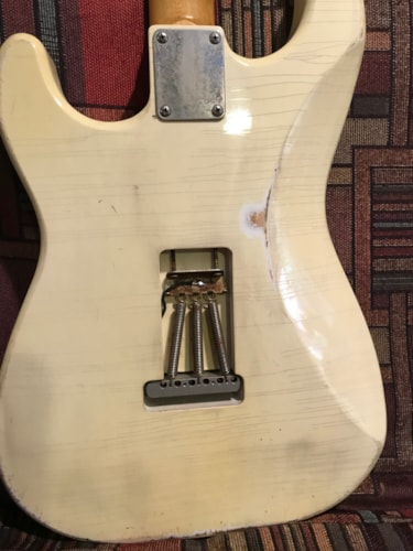 Protocaster Guitars double cut Olympic White, Brand New, Original Hard, $2,450.00