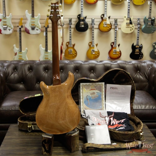 2019 PRS - Paul Reed Smith PRS Wild West Guitars 20th Anniversary Limited Run # 3 of 40 Wood Library Artist Package Hollowbody I Piezo HB1 Beach Cross Fade(Private Stock Color) Beach Cross Fade (Private Stock Color)