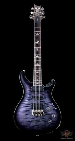 PRS 509 Curly Maple 10 Top - Violet Smokeburst (703)